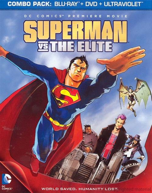 Superman vs. The Elite was released on Blu-ray and DVD on June 12, 2012.