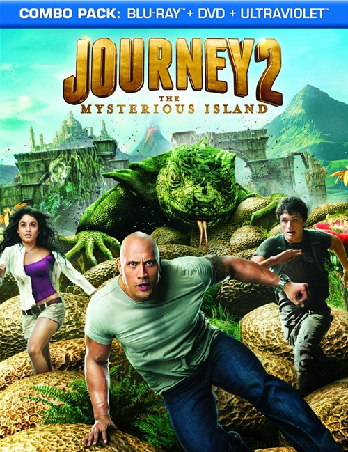 Journey 2: The Mysterious Island was released on Blu-ray and DVD on June 5, 2012.