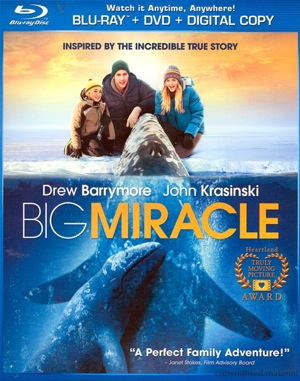Big Miracle was released on Blu-ray and DVD on June 12, 2012.