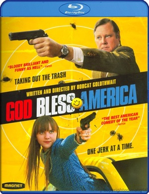 God Bless America was released on Blu-ray and DVD on July 3, 2012.