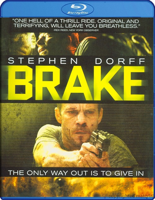 Brake was released on Blu-ray and DVD on July 24, 2012.