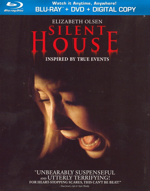 Silent House was released on Blu-ray and DVD on July 24, 2012.