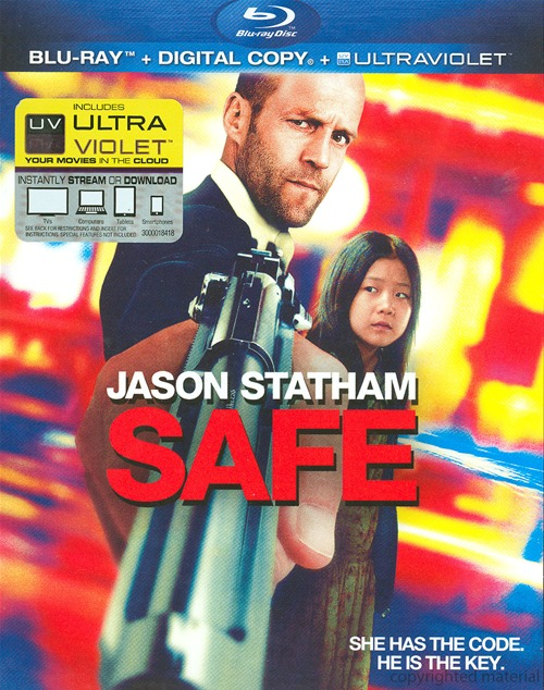 Safe was released on Blu-ray and DVD on September 4, 2012.