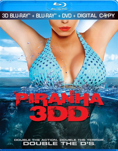 Piranha 3DD was released on Blu-ray and DVD on September 4, 2012.