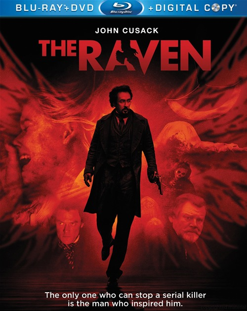 The Raven was released on Blu-ray and DVD on October 9th, 2012.