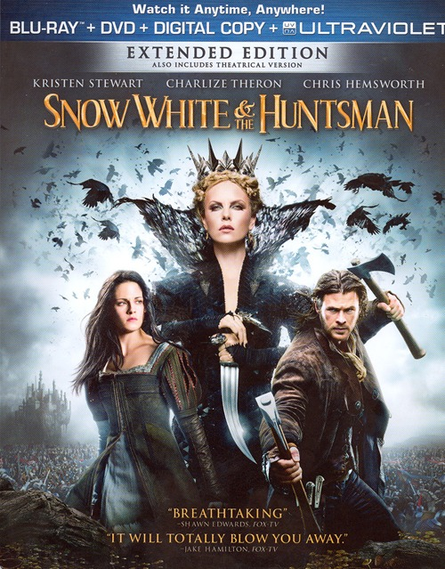 Snow White and the Huntsman was released on Blu-ray and DVD on September 11, 2012.