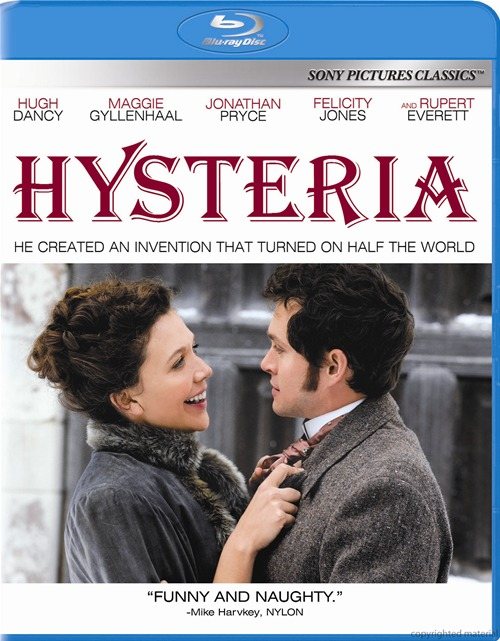 Hysteria was released on Blu-ray and DVD on September 18, 2012.