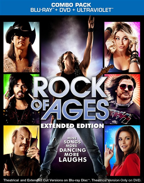 Rock of Ages was released on Blu-ray and DVD on October 9th, 2012.