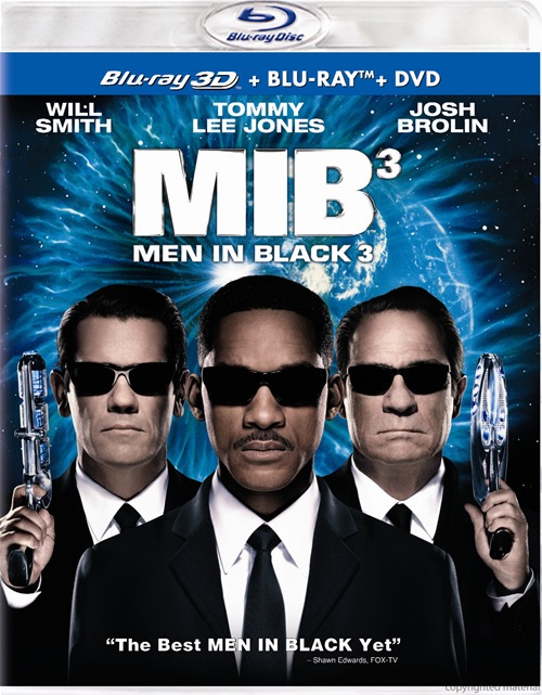 Men in Black 3 was released on Blu-ray and DVD on November 30th, 2012.