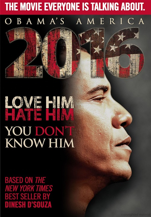 2016: Obama's America was released on DVD on October 16, 2012.