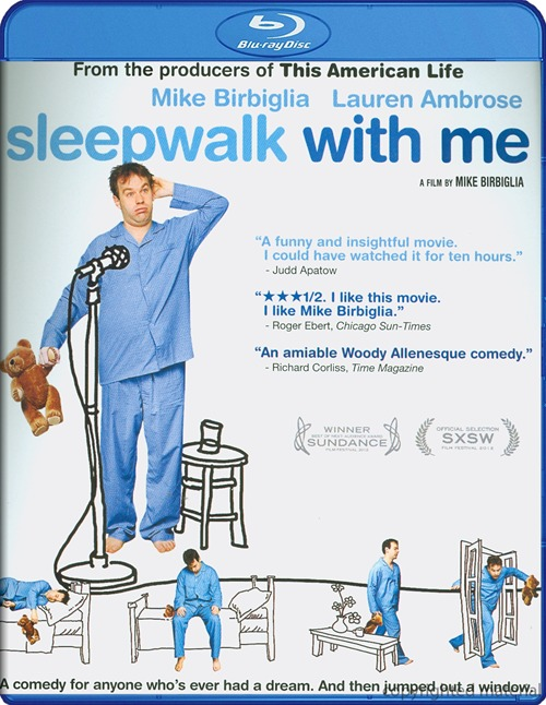 Sleepwalk with Me was released on Blu-ray and DVD on December 18th, 2012.