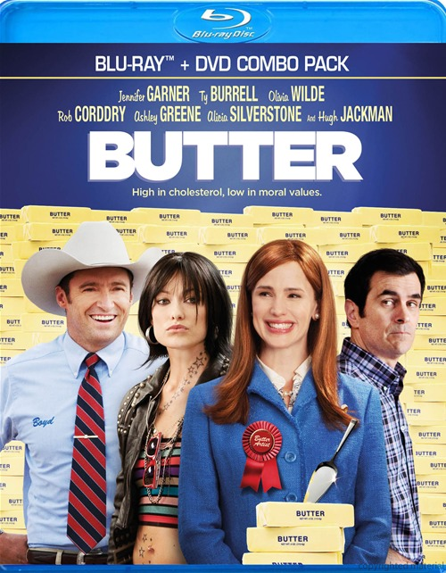 Butter was released on Blu-ray and DVD on December 4th, 2012.