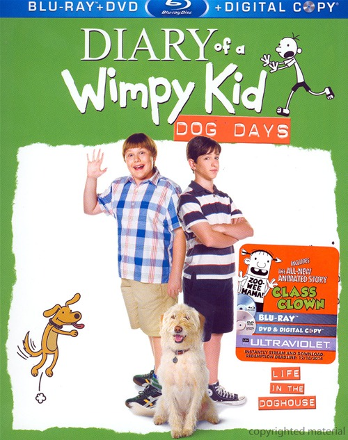 Diary of a Wimpy Kid: Dog Days was released on Blu-ray and DVD on December 18th, 2012.