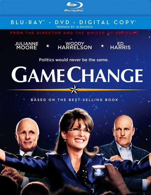 Game Change was released on Blu-ray and DVD on January 8th, 2013.