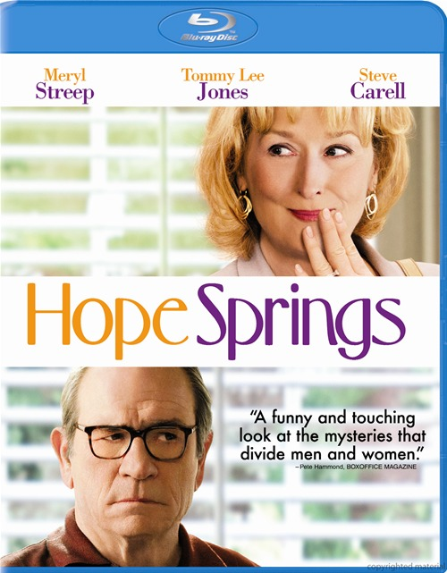 Hope Springs was released on Blu-ray and DVD on December 4th, 2012.