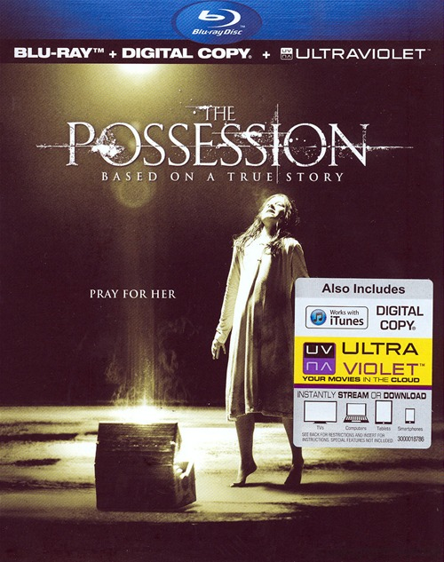 The Possession was released on Blu-ray and DVD on January 15th, 2013.