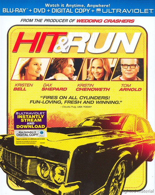 Hit and Run was released on Blu-ray and DVD on January 8th, 2013.