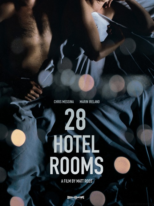 28 Hotel Rooms was released on DVD on February 12th, 2013.
