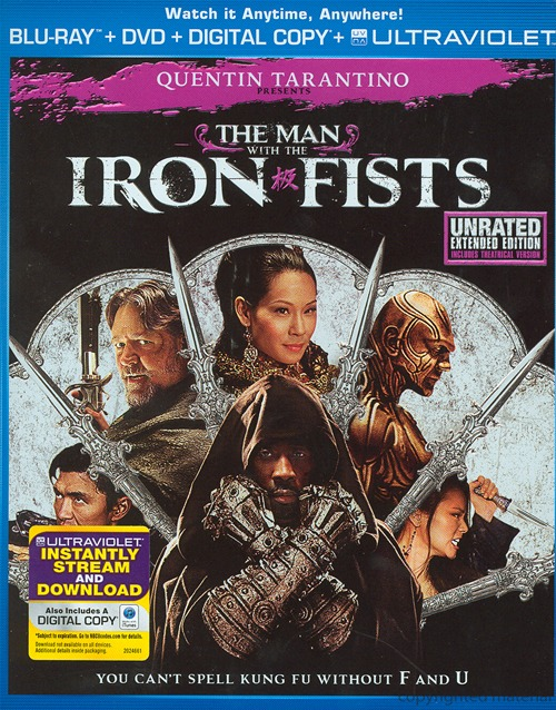 The Man with the Iron Fists was released on Blu-ray and DVD on February 12th, 2013.