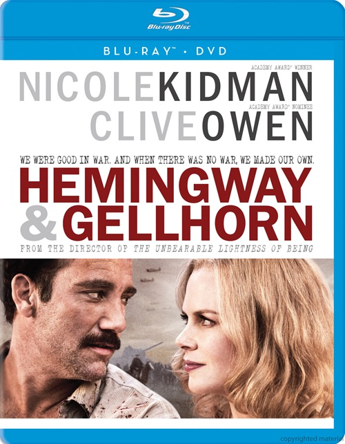 Hemingway and Gellhorn was released on Blu-ray and DVD on April 2nd, 2013.
