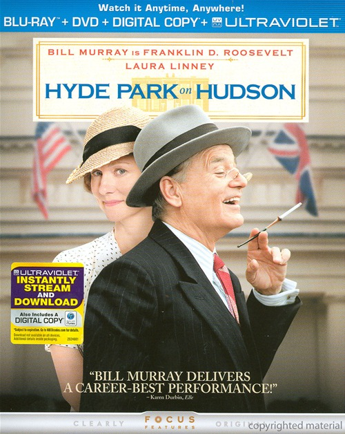 Hyde Park on Hudson was released on Blu-ray and DVD on April 9th, 2013.
