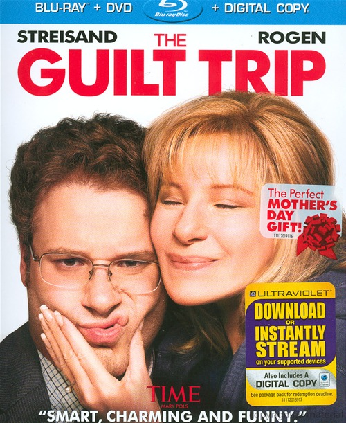 The Guilt Trip was released on Blu-ray and DVD on April 30th, 2013.