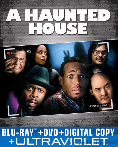 A Haunted House was released on Blu-ray and DVD on April 23rd, 2013.