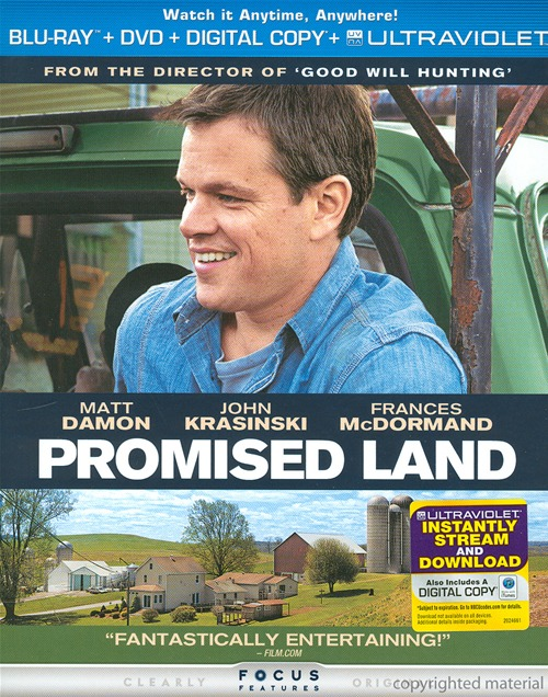Promised Land was released on Blu-ray and DVD on April 23rd, 2013.