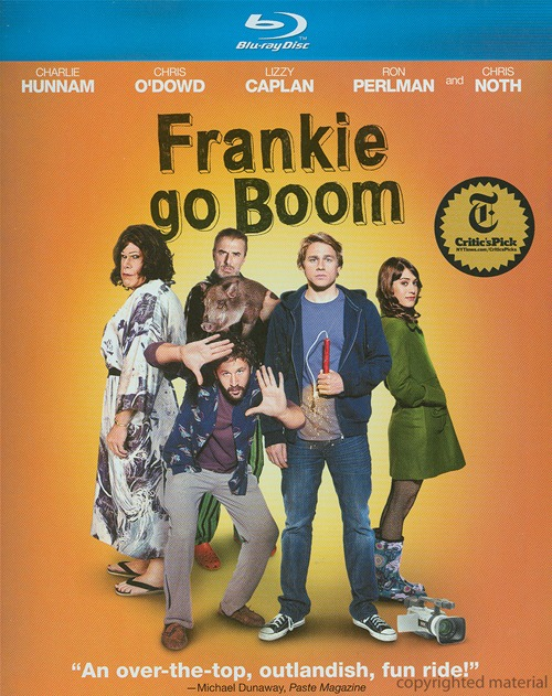Frankie Go Boom was released on Blu-ray and DVD on May 14th, 2013.
