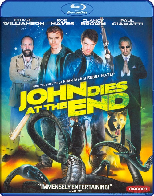 John Dies at the End was released on Blu-ray and DVD on April 2nd, 2013.