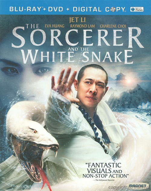 The Sorcerer and the White Snake was released on Blu-ray and DVD on April 9th, 2013.