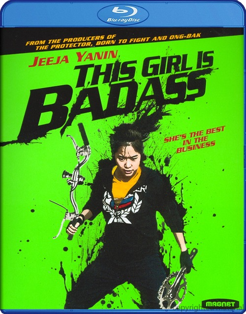 This Girl is Badass was released on Blu-ray and DVD on May 21st, 2013.