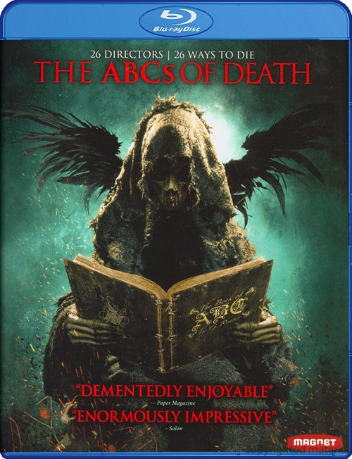 The ABCs of Death was released on Blu-ray and DVD on May 21st, 2013.