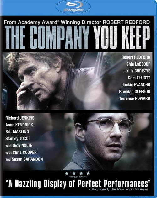 The Company You Keep was released on Blu-ray and DVD on August 13th, 2013.