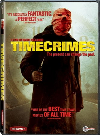 Timecrimes was released on DVD on March 31st, 2009.