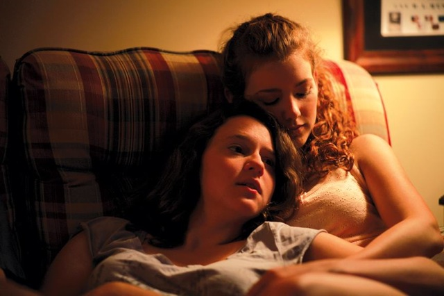 Allison Torem and Molly Kunz star in Stephen Cone's The Wise Kids.