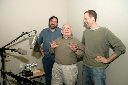 Ed Asner and Pete Docter
