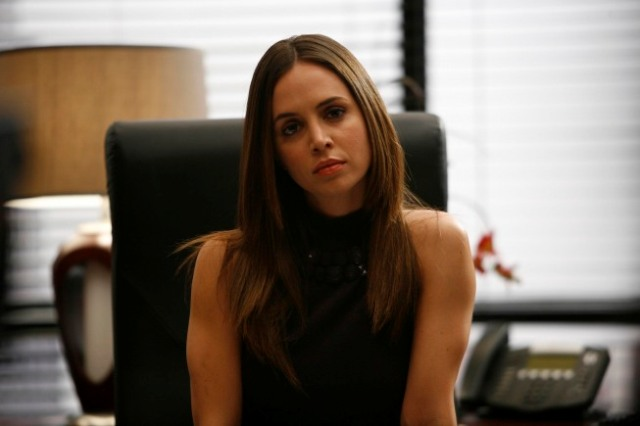 "DOLLHOUSE:  When a traitor is discovered inside the Dollhouse, Echo (Eliza Dushku) is programmed as a spy hunter to uncover the culprit in the DOLLHOUSE episode ""A Spy in the House of Love"" airing Friday, April 10 (9:01-10:00 PM ET/PT) on FOX. ©2009 Fox Broadcasting Co. Cr: Isabella Vosmikova/FOX"