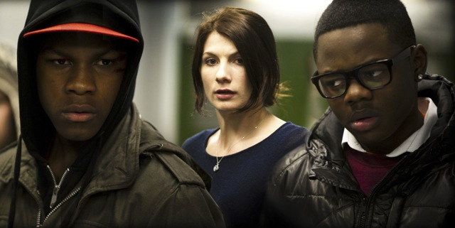 John Boyega, Jodie Whittaker and Leeon Jones star in Joe Cornish's Attack the Block.