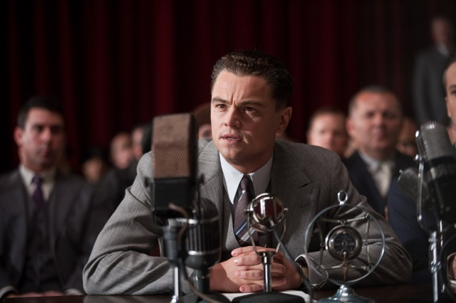 Leonardo DiCaprio stars in Clint Eastwood's J. Edgar.