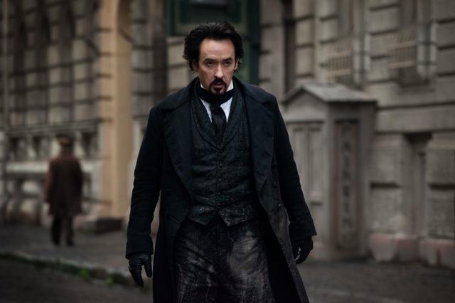 John Cusack stars in Relativity Media´s stylish gothic thriller The Raven.