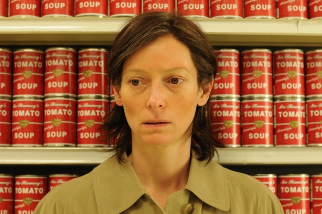 Tilda Swinton stars in Lynne Ramsay's We Need to Talk About Kevin.