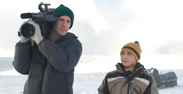 John Krasinski and Ahmaogak Sweeney star in Ken Kwapis' Big Miracle.