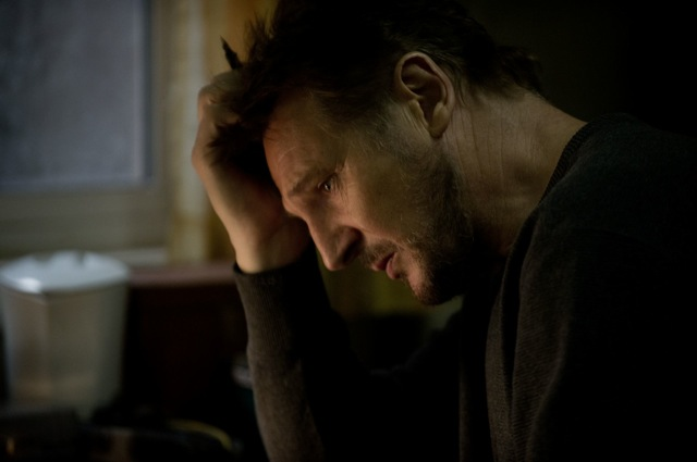 Liam Neeson stars in Joe Carnahan's The Grey.