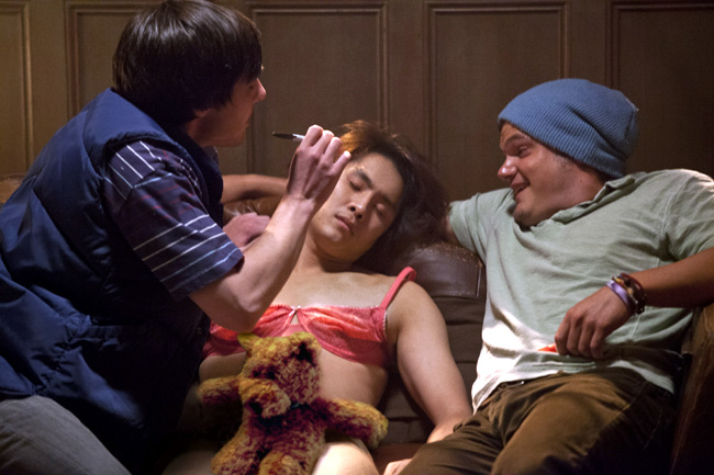 Justin Chon in 21 and Over