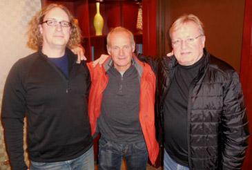Brian Kalles, Serge Roetheli, John Davies