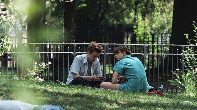 Mark Rendall and Zoe Kazan star in Bradley Rust Gray's The Exploding Girl.
