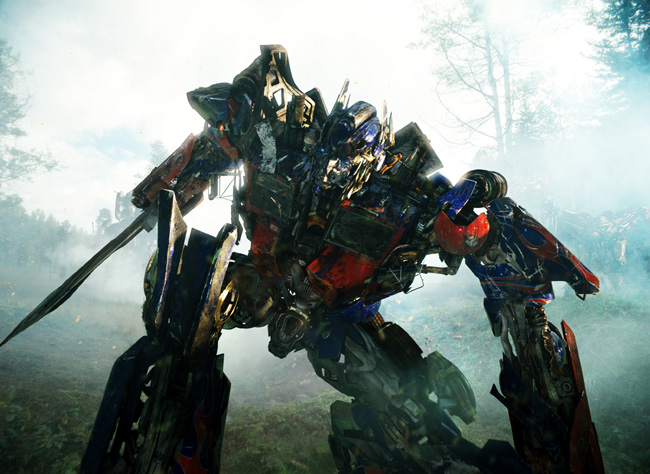 Optimus Prime in Transformers: Revenge of the Fallen
