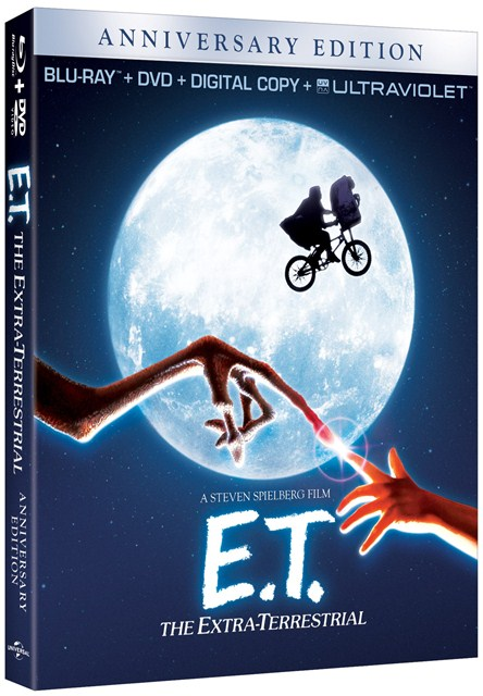 E.T. The Extra-Terrestrial was released on Blu-ray on October 9, 2012