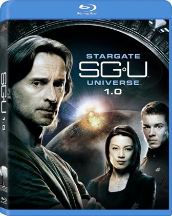 SG-U Stargate Universe: 1.0 was released on Blu-Ray and DVD on February 9th, 2010.